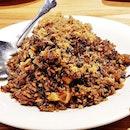 Hak Gam Olive Fried Rice With Prawns & Minced Pork (SGD $17) @ Joyden Canton Kitchen.