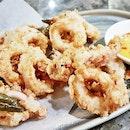 Buttermilk Calamari (SGD $16) @ Perch.