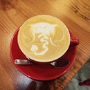 Beautiful Elephant Latte Art.