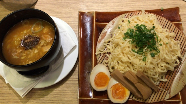 Rich Dried Sardine Tsukemen ($14.50)