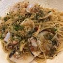 Seafood Fettuccine ($25)