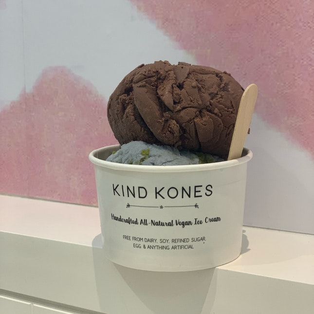 Salted Choc Chip and Blue Planet ($8)