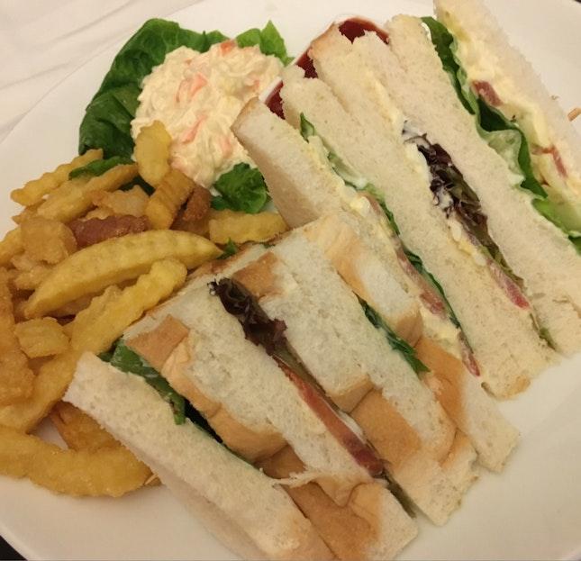 Huge Serving Of The Sandwich Board