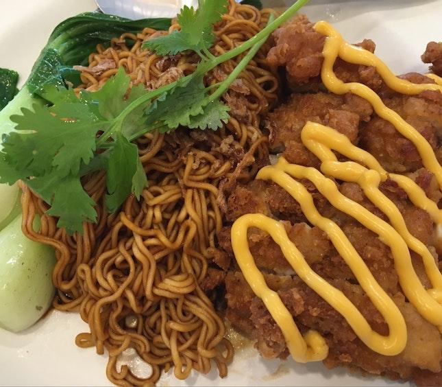 Chicken Cutlet Noodles!