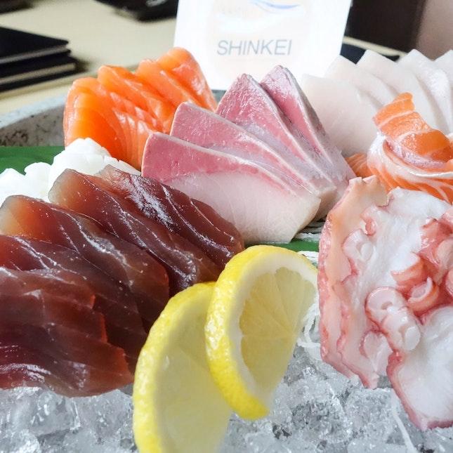 Sashimi Moriawase • À La Carte Buffet $45++