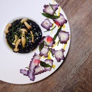 Ink Risotto and Purple Octopus • S$28++