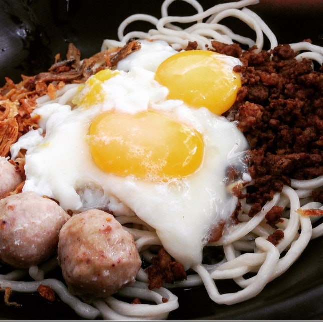 Signature Dry Chilli Pan Mee • S$5