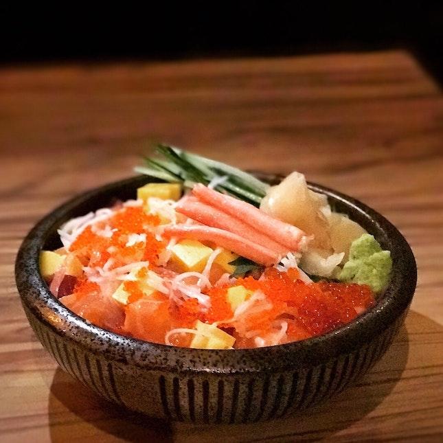 Bara Chirashi Sushi • S$32.80++