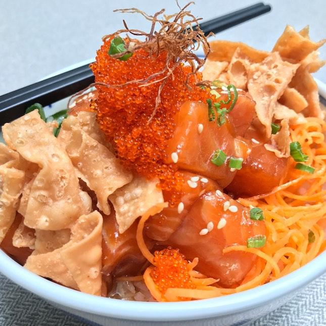Salmon Yu-Sheng Bowl • S$20+
