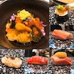 Omakase (15-course for $38++, 18-course for $68++, 18-course w Uni for $98++)