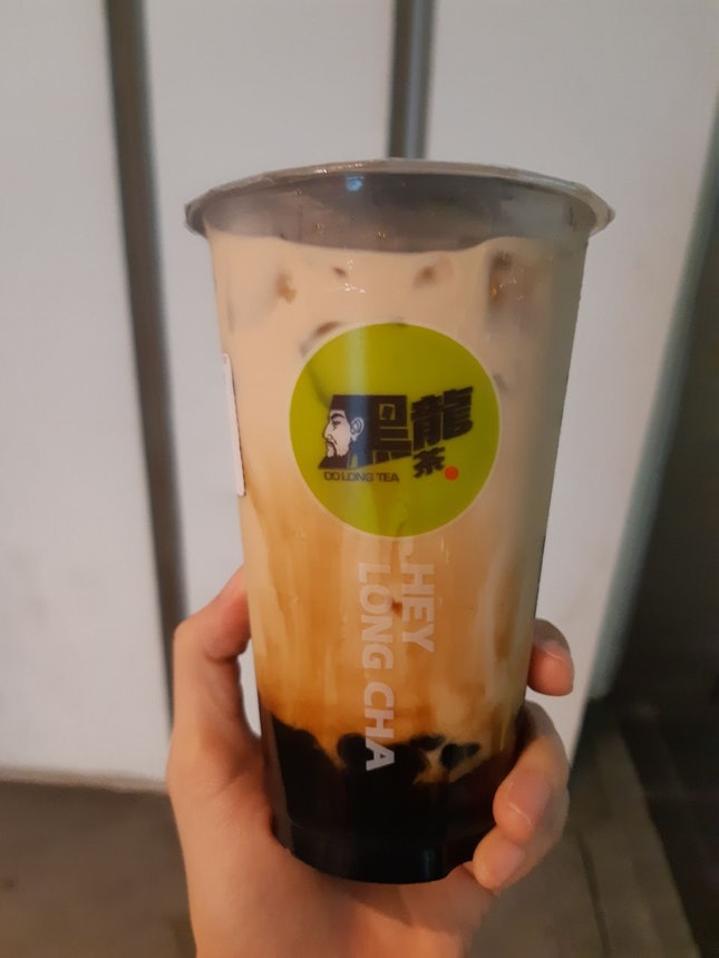 Milk Tea with Brown Sugar Pearls