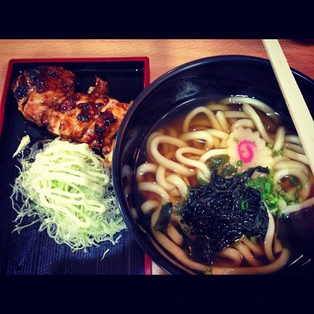 Chicken teriyaki udon at Ichi Tei #foodporn #instafood #instadaily #igsg