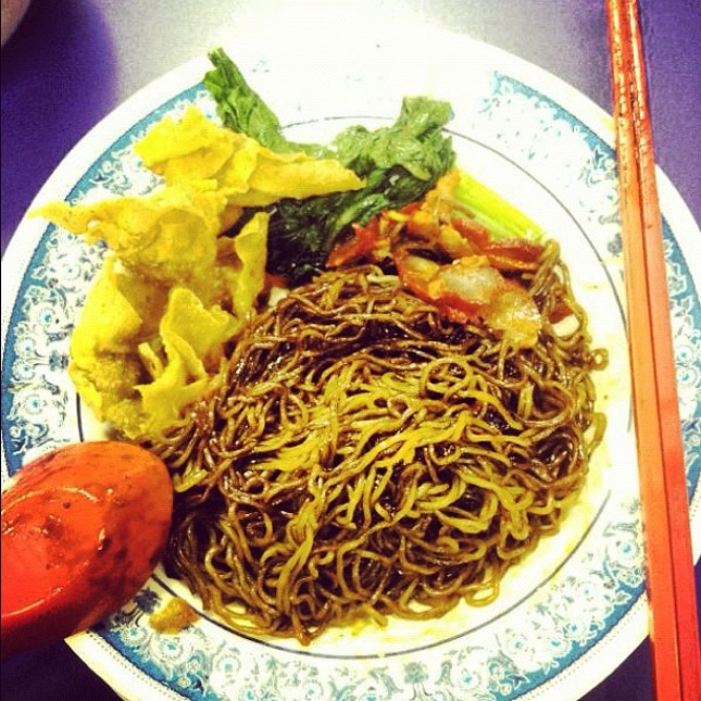 Dimsum dinner ended up wanton mee at Sunshine #epicfail #foodporn #sgfood @wendylyj