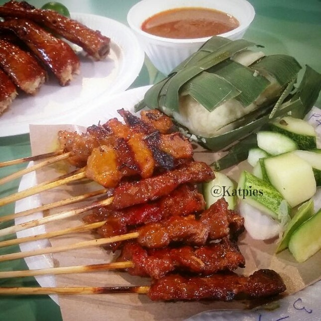 Pork and Mutton Satay.