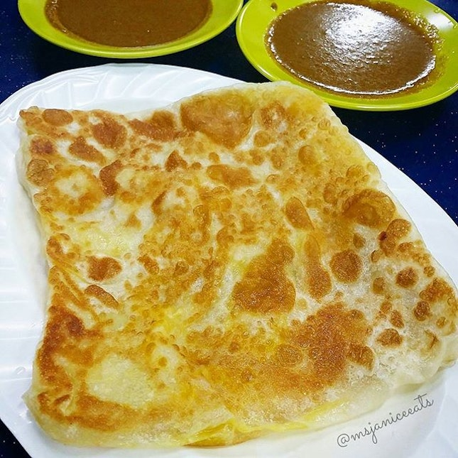 My favourite Banana Prata.