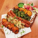 🌟 Pavilion Tandoori Platter (S$42.50) 🌟  Calling all meat lovers!