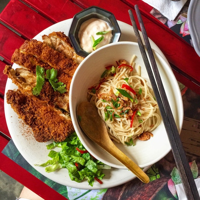 Ah Gong's Fried Chicken & Ah Ma's Noodles