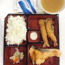 Ebi Salmon Set for lunch!