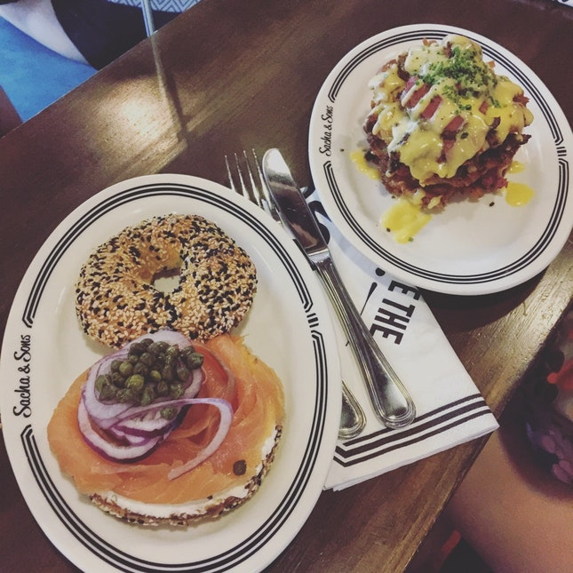 The Bagel And Latkes