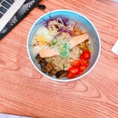 Salmon Grain Bowl ($15 Nett)