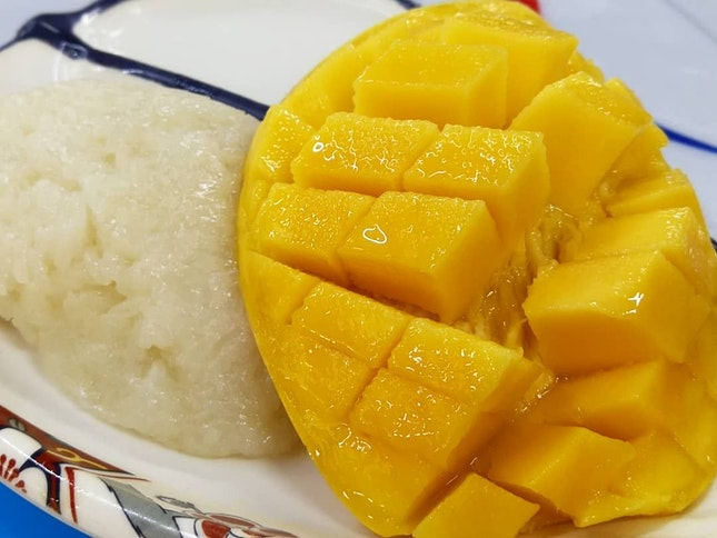 Great Mangoes Overly Sticky Rice