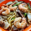 Very Disappointing Prawn Mee