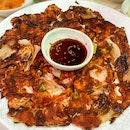 Kimchi Pancake ($18)