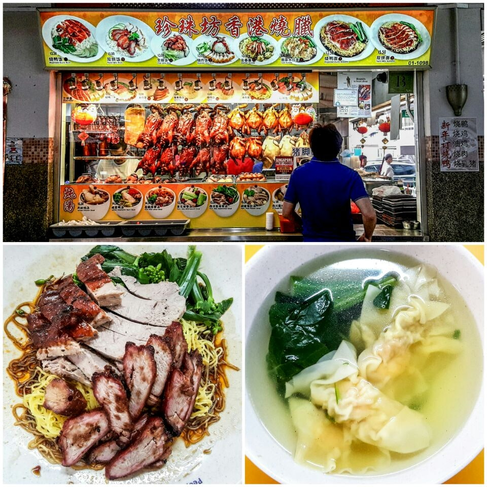 Twin Mix Noodles ($5.50) & Dumpling Soup ($4)