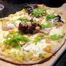 Salted Egg Yolk Pizza ($28)
