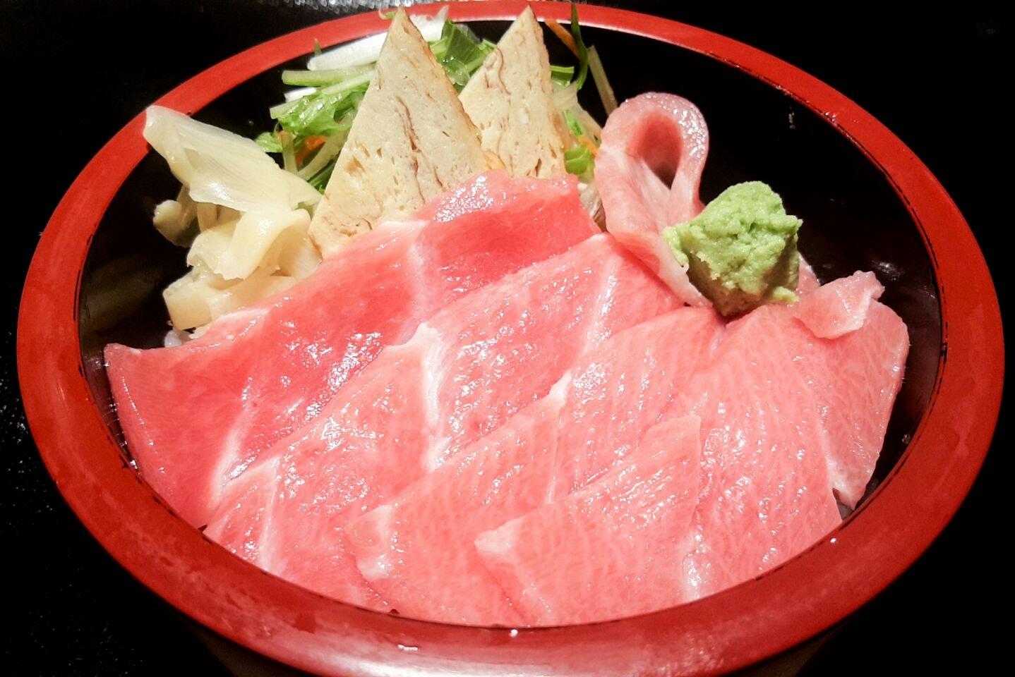 Ootoro Meshi With Premium Maguro (Promo: $16.40++)