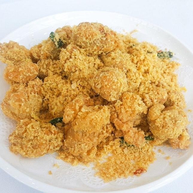 Golden Cereal Chicken ($16)