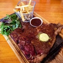 Porterhouse T-bone (500g/$49.90)