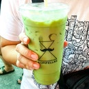 Thai Green Milk Tea ($4)