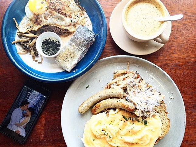 Public holiday calls for a good brunch!