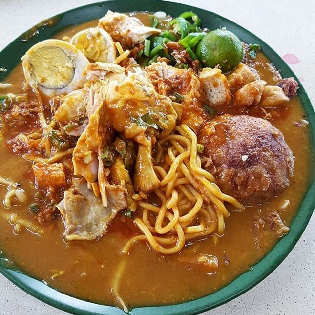 Mee Rebus Power ($3.80); The gravy is superb!
