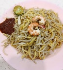 Fried Sotong Prawn Mee ($3) that's featured in Michelin Bib Gourmand in 2016 & 2017.