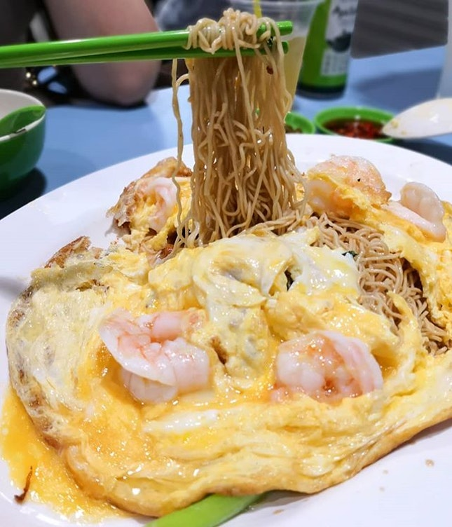 Yellow Cloth Noodles ($20); When I saw this dish from @ieatishootipost, I knew I had to try this dish.