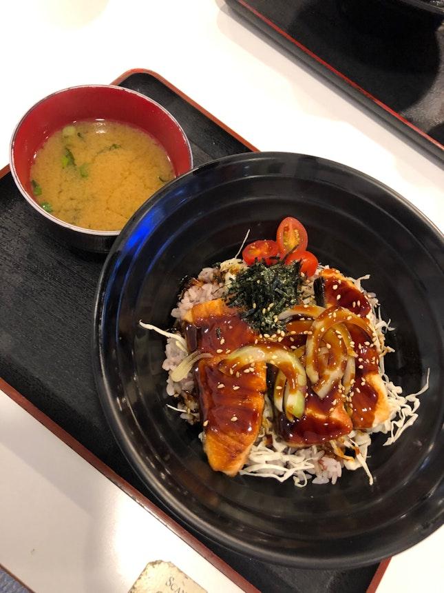 Salmon Teriyaki Don