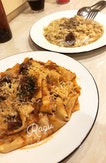 Oxtail Ragu and Porcini Truffle Pappardelle