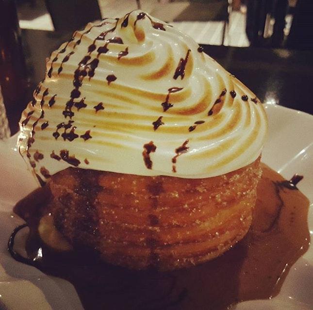 Churros Donut Stack #churros #churrosfans #roomfordessert #burpple #burpplekl #SweetTooth #bangsarsouth