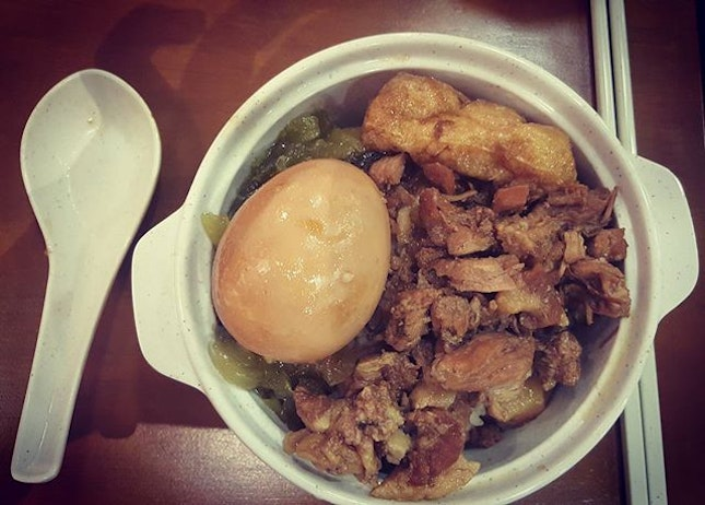 I have yet to find any authentic Taiwanese Braised Pork Rice in KV #tasteoftaiwan #burpple #burpplekl #holiday #t-3trip