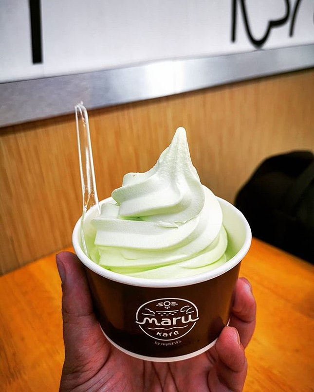 Thirst queenchers, the new Ice-cold creamy Maru Pandan Coconut...