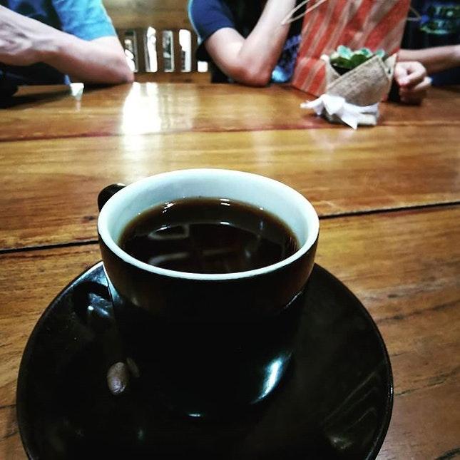 Cat-poo-cino  Coffee Luwak (35k rupiah)  #kopiluwak #luwakcoffee #catpoocino #catpoocino💩 #musangluwak #burpplegoesjogja #burpple
