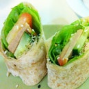 Wholewheat Veggie Wraps