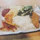 Nasi lemak at Far East Plaza.