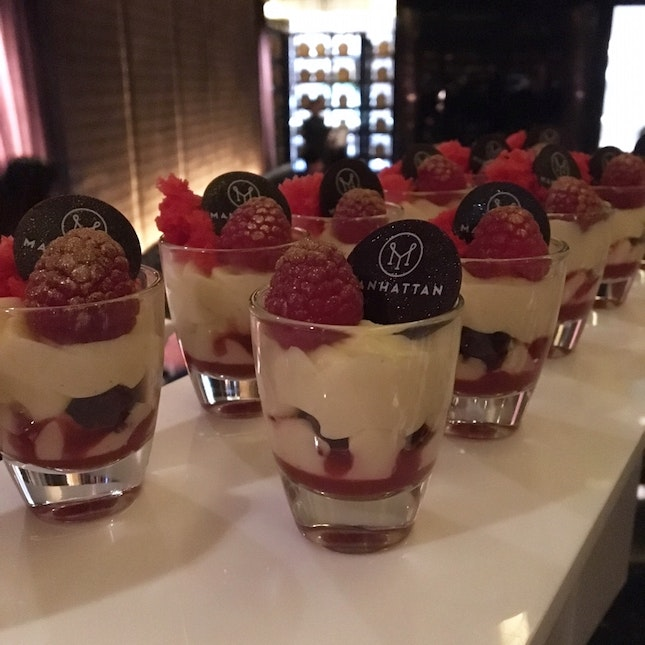 Mini Red Velvet Trifle
