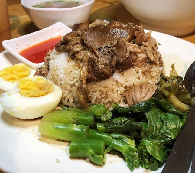Braised Pork Knuckle Rice | 7.9bucks