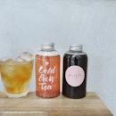 ; Cold Brewed Teas  Kyu's very own housemade cold brews.