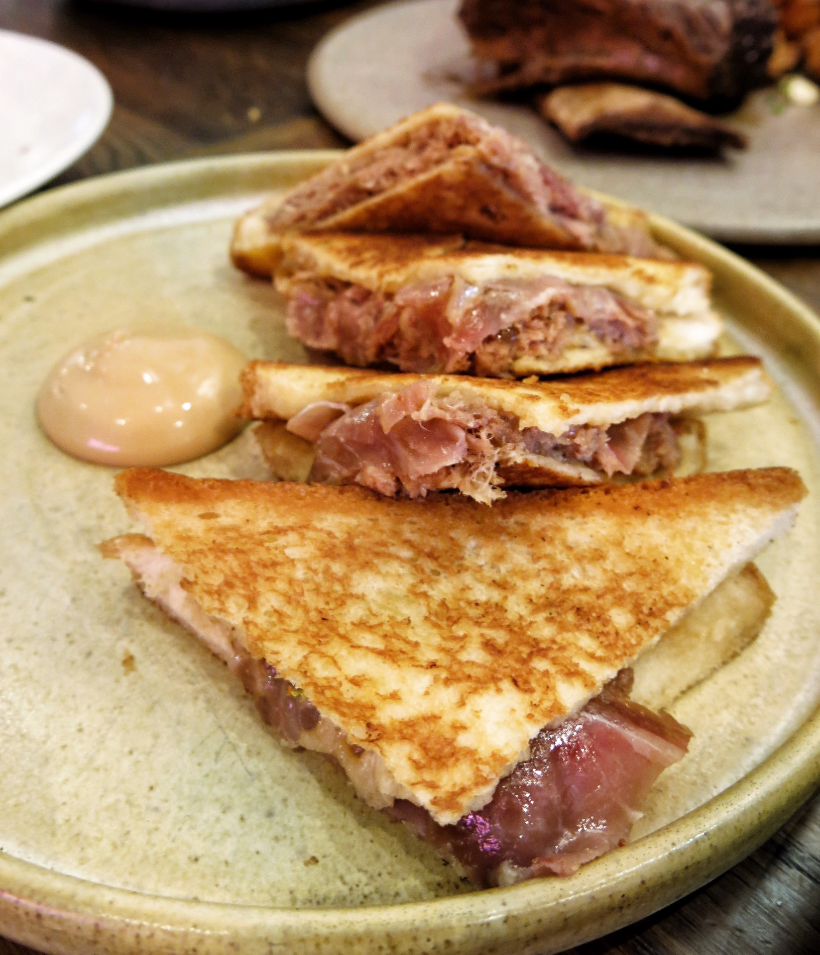 Coppa & Duck Toasties