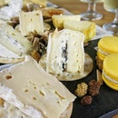 ; Truffle Brie  With fresh shaved truffles sandwiched between.